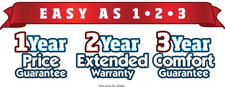bedzzz express 1-2-3 guarantee
