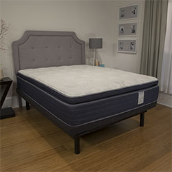 BEDZZZ KAYLA PILLOWTOP mattress