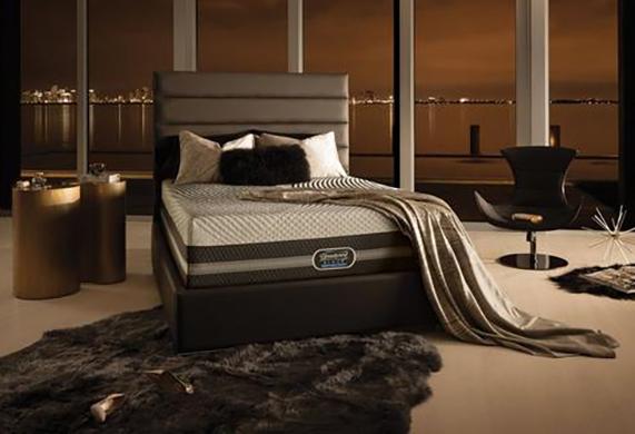 beautyrest black bedroom