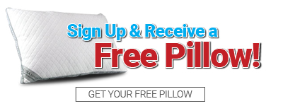 Free Pillow Sign Up