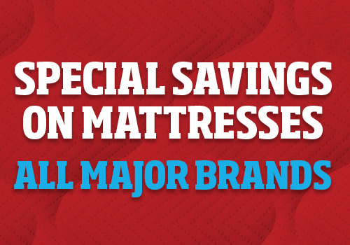 Special Savings on Mattresses