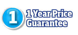 1 year price guarantee