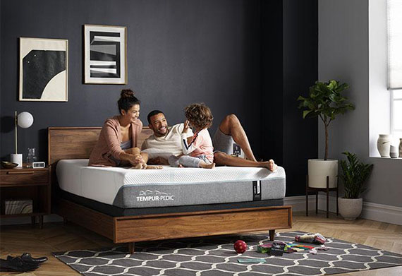 tempur adapt mattress with family