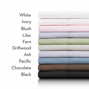 MaloufBrushed Microfiber Sheet Set Twin
